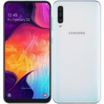 Mobilní telefon Samsung Galaxy A50 4GB/128GB, bílá + DÁREK Antivir Bitdefender v hodnotě 299 Kč