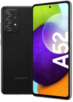 Mobilní telefon Samsung Galaxy A52 6GB/128GB, černá
