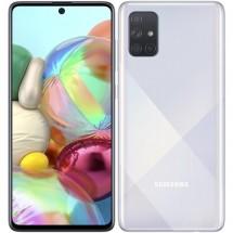 Mobilní telefon Samsung Galaxy A71 6GB/128GB, stříbrná + DÁREK Antivir Bitdefender v hodnotě 299 Kč