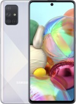 Mobilní telefon Samsung Galaxy A71 6GB/128GB, stříbrná POUŽITÉ, N
