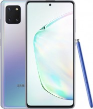Mobilní telefon Samsung Galaxy Note 10 Lite 6GB/128GB, stříbrná + DÁREK Antivir Bitdefender pro Android v hodnotě 299 Kč