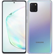 Mobilní telefon Samsung Galaxy Note 10 Lite 6GB/128GB, stříbrná + DÁREK Antivir Bitdefender v hodnotě 299 Kč
