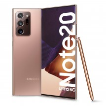 Mobilní telefon Samsung Galaxy Note 20 Ultra 12GB/256GB,bronzová + Galaxy Buds Live