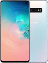 Mobilní telefon Samsung Galaxy S10, 8GB/512GB, bílá + DÁREK Antivir Bitdefender v hodnotě 299 Kč  + DÁREK Bezdrátový reproduktor One Plus v hodnotě 499Kč