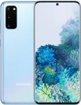 Mobilní telefon Samsung Galaxy S20, 8GB/128GB, modrá + Mobilní telefon Samsung Galaxy A20e