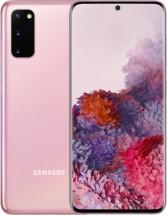 Mobilní telefon Samsung Galaxy S20, 8GB/128GB, růžová + Mobilní telefon Samsung Galaxy A20e