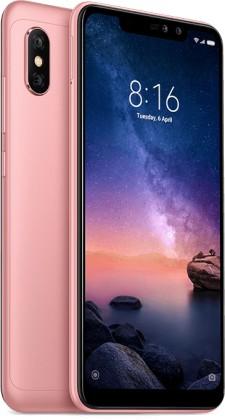 Mobilní telefon Xiaomi Redmi NOTE 6 PRO 3GB/32GB, růžová