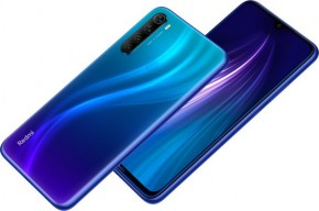 Mobilní telefon Xiaomi Redmi Note 8T 4GB/64GB, modrá + DÁREK Antivir Bitdefender v hodnotě 299 Kč