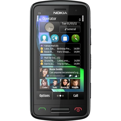 Mobilní telefony Nokia C6-01 Black