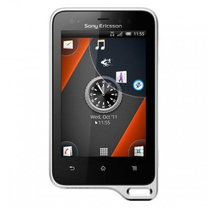 Mobilní telefony Sony Ericsson Xperia Active Black White