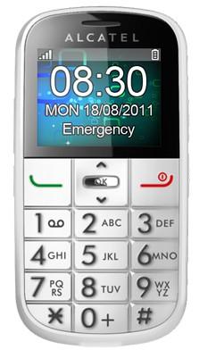 Mobily, GPS Alcatel 282 white (282X-2BALCZ1)