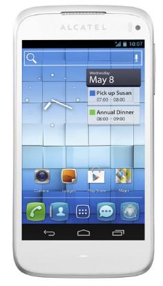 Mobily, GPS Alcatel AL997D White (997D-2CALCZ1)