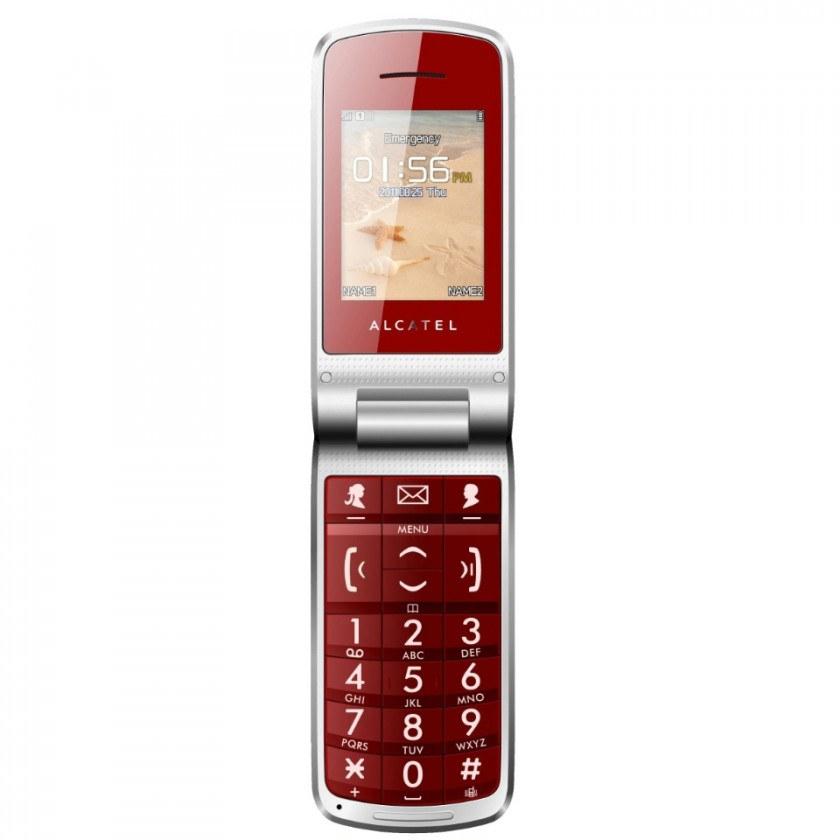 Mobily, GPS Alcatel One Touch 536 Red