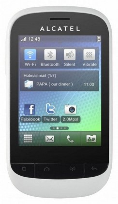 Mobily, GPS Alcatel One Touch 720D Pure White