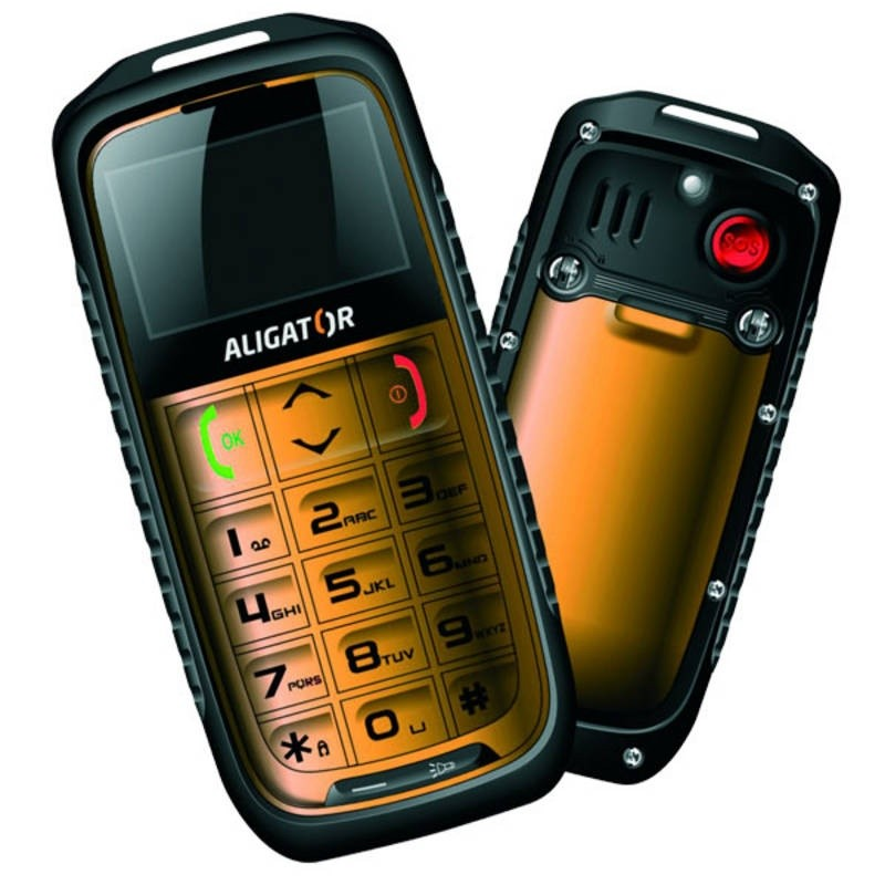Mobily, GPS Aligator R5 outdoor Yellow