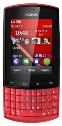 Mobily, GPS Nokia Asha 303 Red