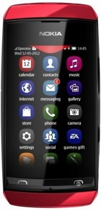 Mobily, GPS Nokia ASHA 305 Red BAZAR