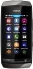 Mobily, GPS Nokia ASHA 306 Grey BAZAR