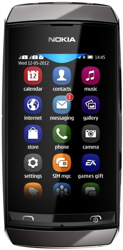 Mobily, GPS Nokia ASHA 306 Grey