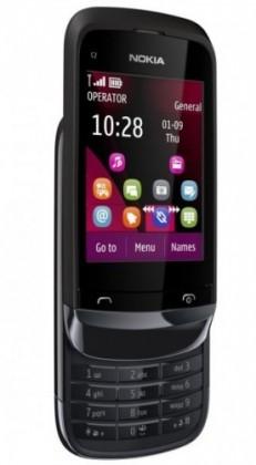 Mobily, GPS Nokia C2-02 Chrome Black BAZAR