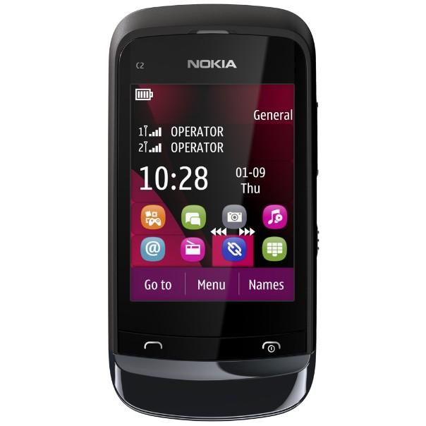 Mobily, GPS Nokia C203CH Black (002Z1D5)