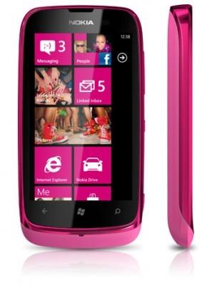 Mobily, GPS Nokia Lumia 610 Magenta