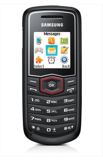 Mobily, GPS Samsung E1081, černý