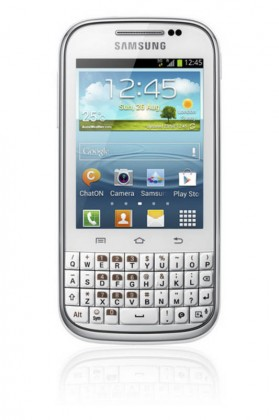 Mobily, GPS Samsung Galaxy Chat (B5330), bílý