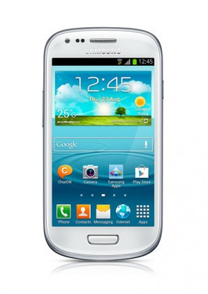 Mobily, GPS Samsung Galaxy S III mini (i8190), bílý