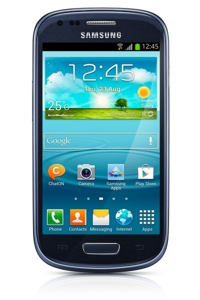 Mobily, GPS Samsung Galaxy S III mini (i8190), modrý BAZAR