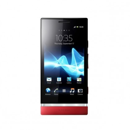 Mobily, GPS SONY Xperia P Red