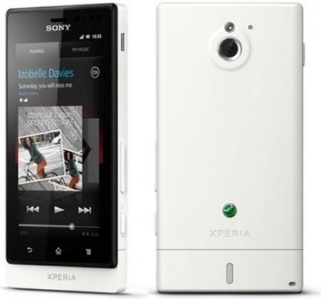 Mobily, GPS Sony Xperia Sola White