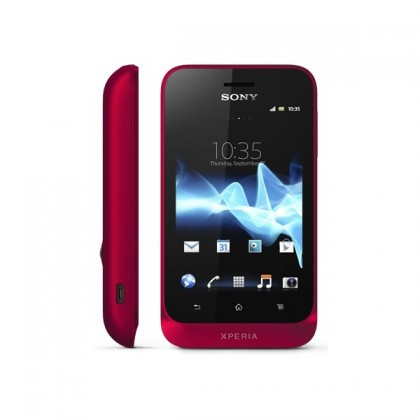 Mobily, GPS Sony Xperia tipo Deep Red ST21i