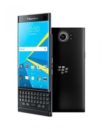 Mobily ZLEVNĚNO BlackBerry PRIV, černá ROZBALENO