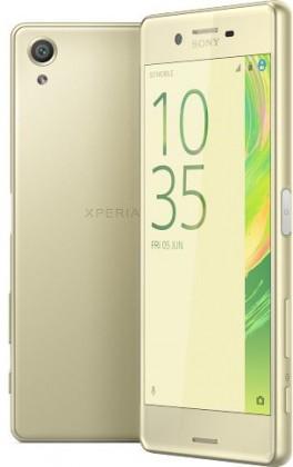 Mobily ZLEVNĚNO Sony Xperia X, zlatá POUŽITÉ, NEOPOTŘEBENÉ ZBOŽÍ