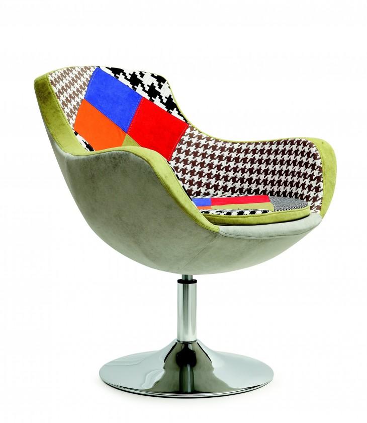 Moderní Křeslo Origami barevné