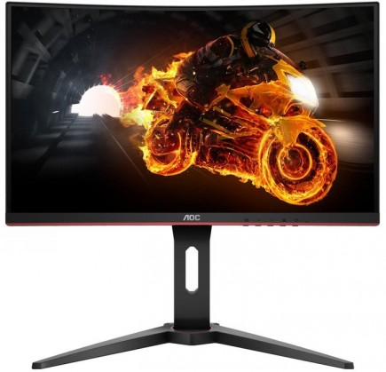 Monitor AOC C27G1, 27'', herní, prohnutý, FullHD, černá