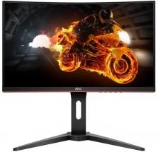Monitor AOC C27G1, 27'', herní, prohnutý, FullHD, černá POUŽITÉ,