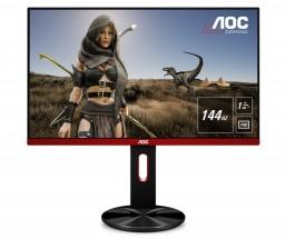 Monitor AOC G2590PX, 24,5'', WLED, Full HD, černá + ZDARMA USB-C Hub Olpran v hodnotě 549 Kč