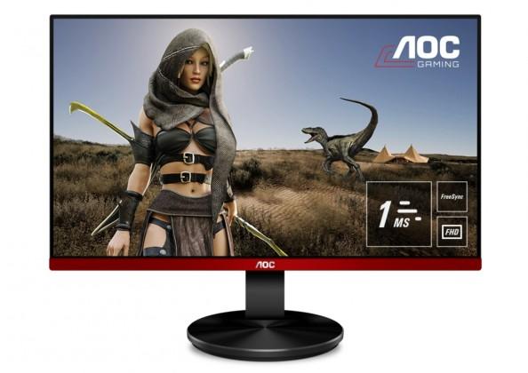 Monitor AOC G2590VXQ, 24,5'', FullHd, 75Hz, HDMI 1.4, černá