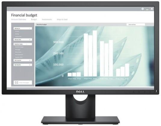 "Monitor Dell E2218HN, 21,5"", WLED, 5 ms, černá"