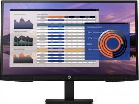 """Monitor HP P27h G4, 27"""", 1920x1080, IPS, 5 ms"""