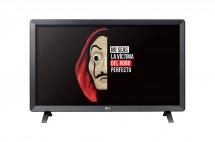 Monitor LG 28TL520S-PZ, s DVB-T2 tunerem, 27,5'', IPS, černá