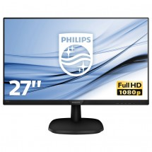 "Monitor Philips 27"" Full HD, LCD, LED, IPS, 5 ms, 60 Hz, 273V7QJA"