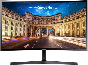 "Monitor Samsung C24F396, 24"", prohnutý, 1920x1080, 4ms"