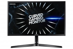 Monitor Samsung C24RG50, 24'', zakřivený, FullHD, 144 Hz, černá