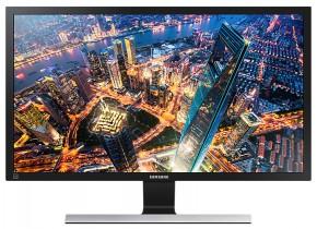 Monitor Samsung U28E590, 28'', 4K Ultra HD, černý + ZDARMA USB-C hub Olpran
