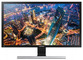 Monitor Samsung U28E590, 28'', 4K Ultra HD, černý + ZDARMA USB-C Hub Olpran v hodnotě 549 Kč