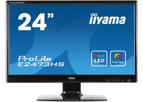"Monitory 24"" iiyama ProLite E2473HS-BG1"