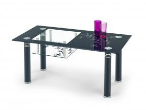 Monroe - Konferenční stolek (černá)